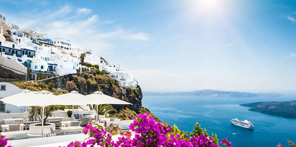 Greek Islands Cruise Tours, couples and flights holiday experience